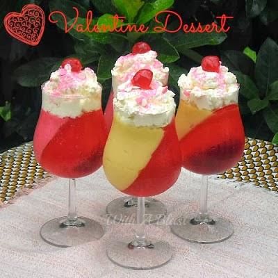 Valentine Parfait Dessert
