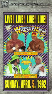 Sid Justice vs Hulk Hogan WrestleMania Randy Savage vs Ric Flair