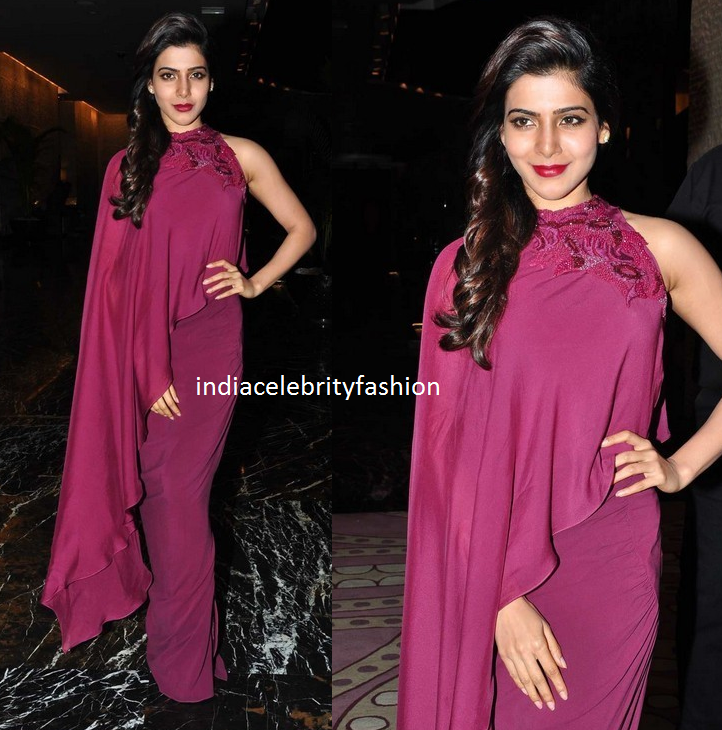 Samantha in Babita Malkani Dress