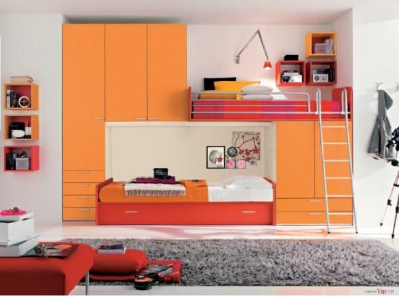 ـأحبڪْ } . . ڪِثرِ مآصُۆِتڪْ يَخدرِنيٌےً ۆ ِأدمَنتہ..! Orange-modern-Kids-Room-designs1