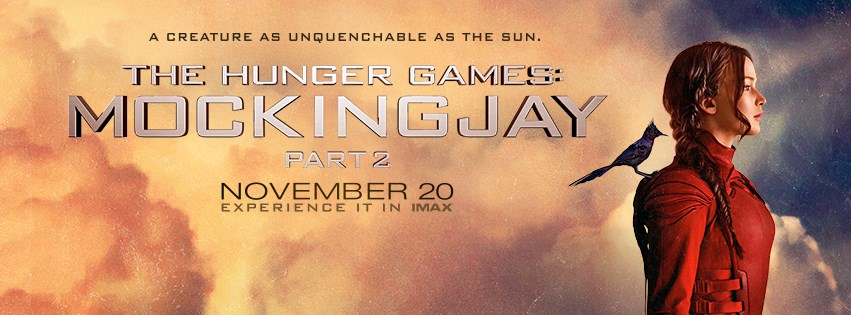 The Hunger Games: Mockingjay, Part 2 banner