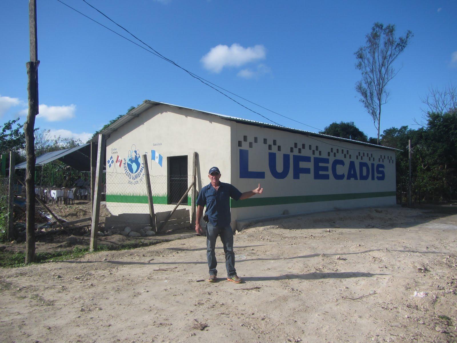 Centre Lufecadis pour enfants à capacités différentes.  2015
