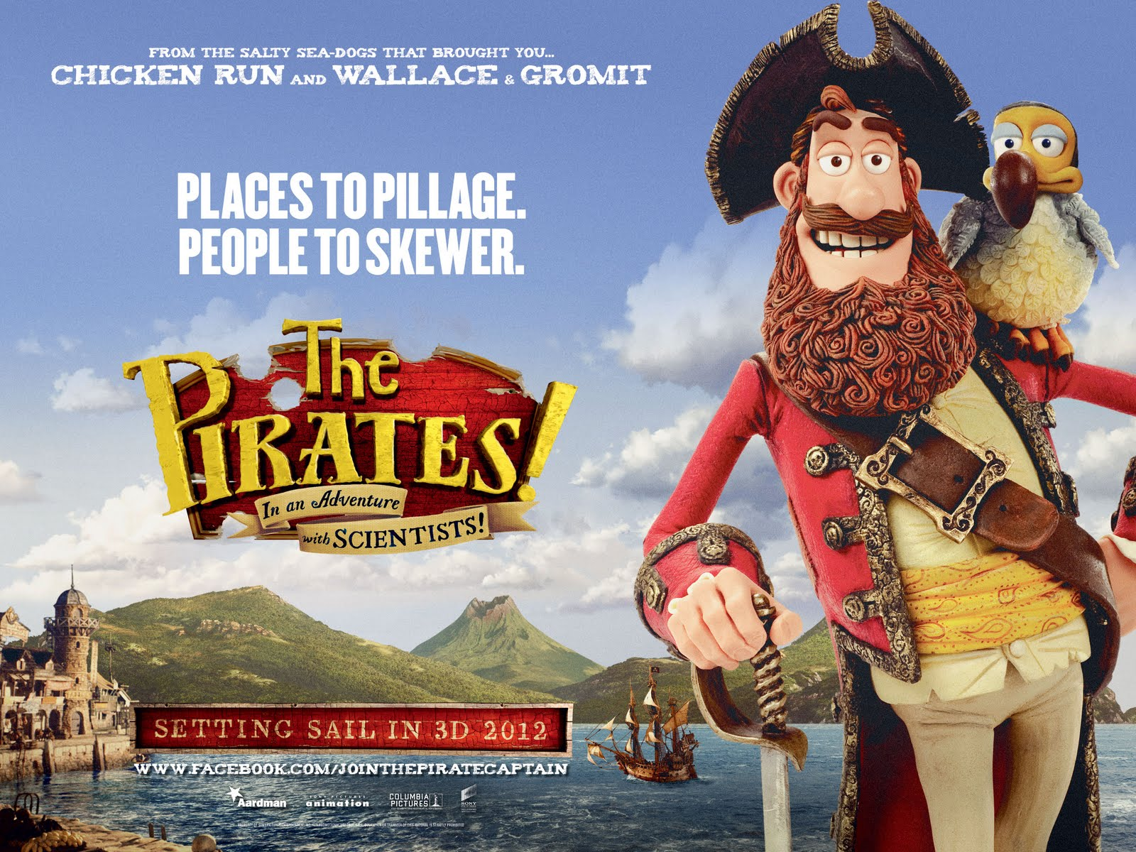 Scottish Actors: Trailers - Pirates! & Arthur Christmas