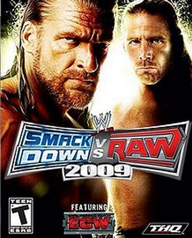 WWE Smackdown vs Raw 2009 Free PC Game Download