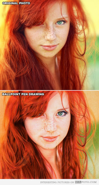 Ballpoint Pen Red Head5
