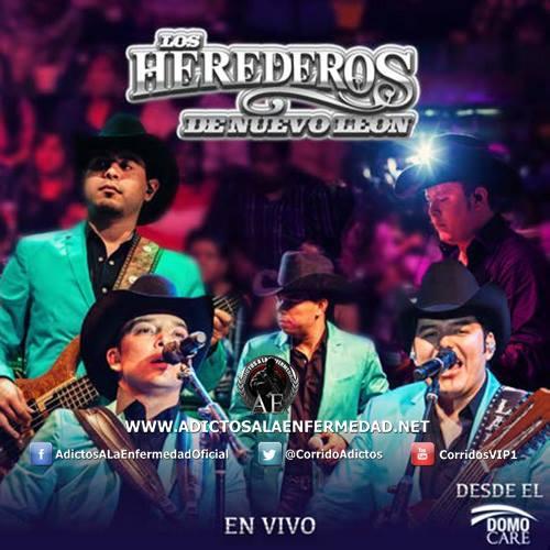 Descargar Disco Los Herederos De Nuevo Leon - Desde El Domo Care En Vivo CD Album