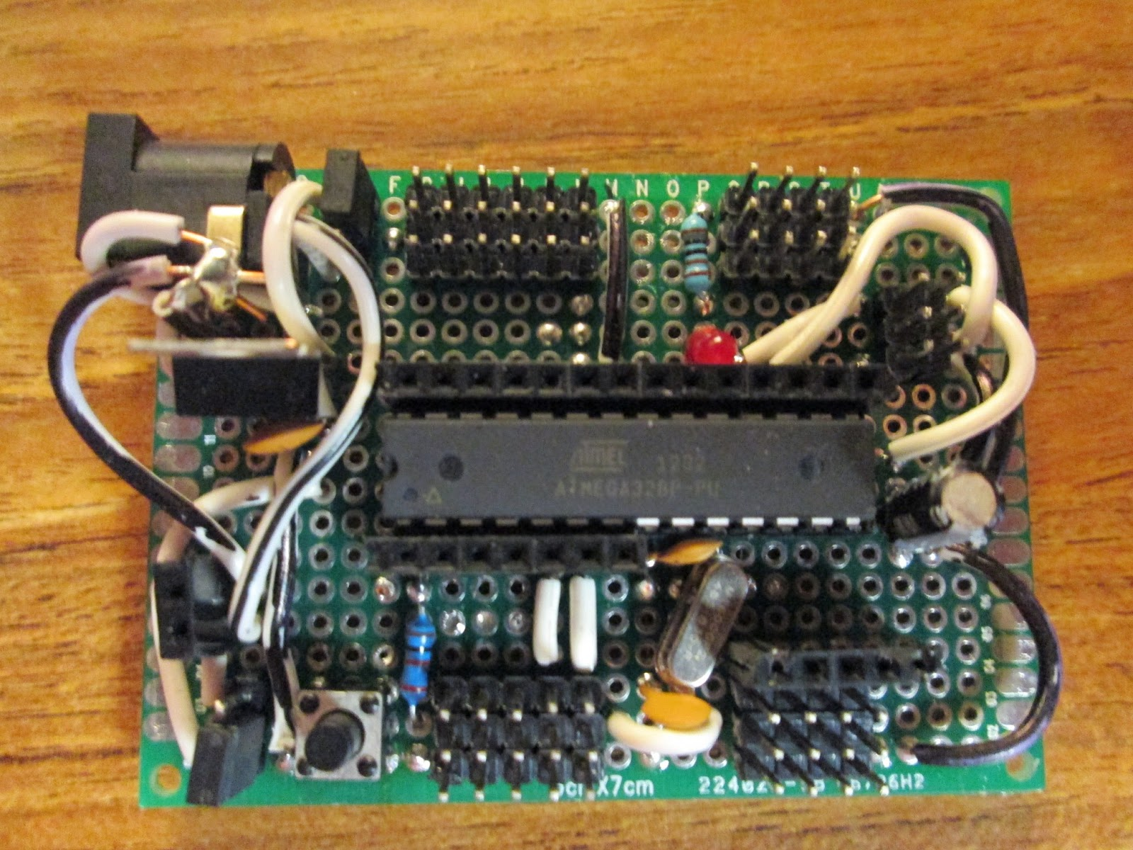 Projects from tech diy arduino atmega p breakout