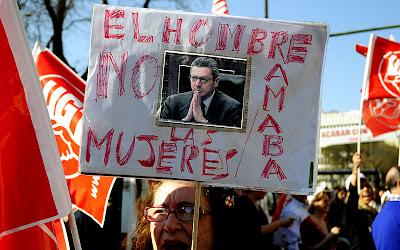 carteles huelga