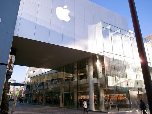 Sanlitun's Apple Store