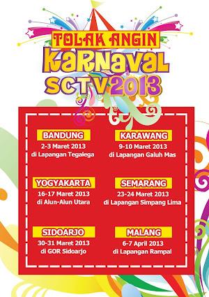 Jadwal Karnaval SCTV 2013