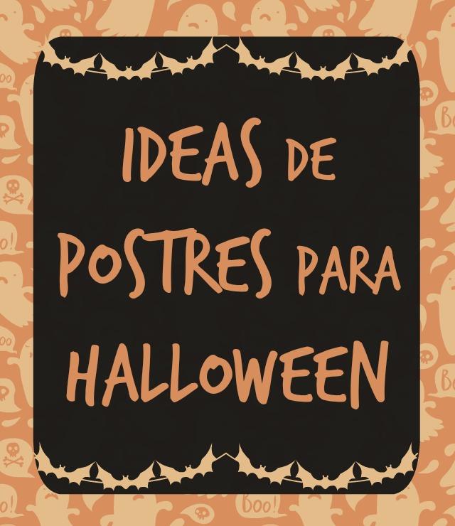 Ideas de Postres para Halloween