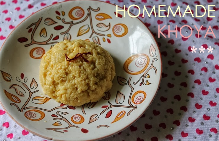 Homemade Khoya / Unsweetened Kova (Khoa) / How to make Mawa (Khoya) at Home