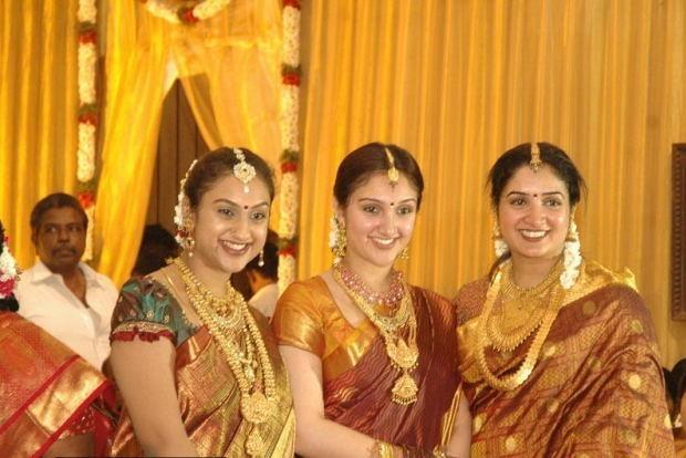 jewellery at Director Hari s brother wedding preetha vijaykumar    Anitha Vijayakumar Wedding Photos