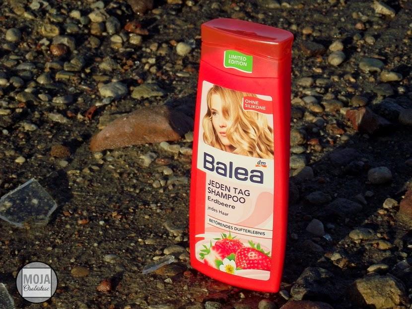 truskawkowy szampon Balea