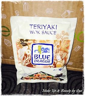 Blue dragon Teriyaki wok sause degustabox julio 2015