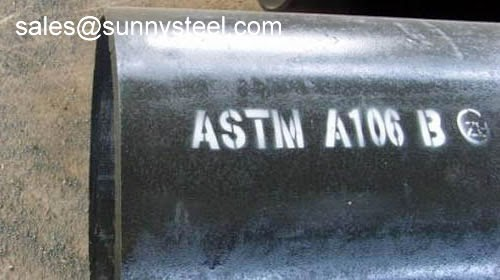API Pipes Tubes ASTM A106 Seamless Carbon Steel Tube For High