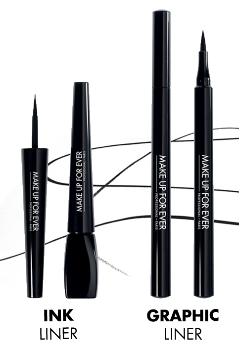 Ink Liner et Graphic Liner Make Up For Ever