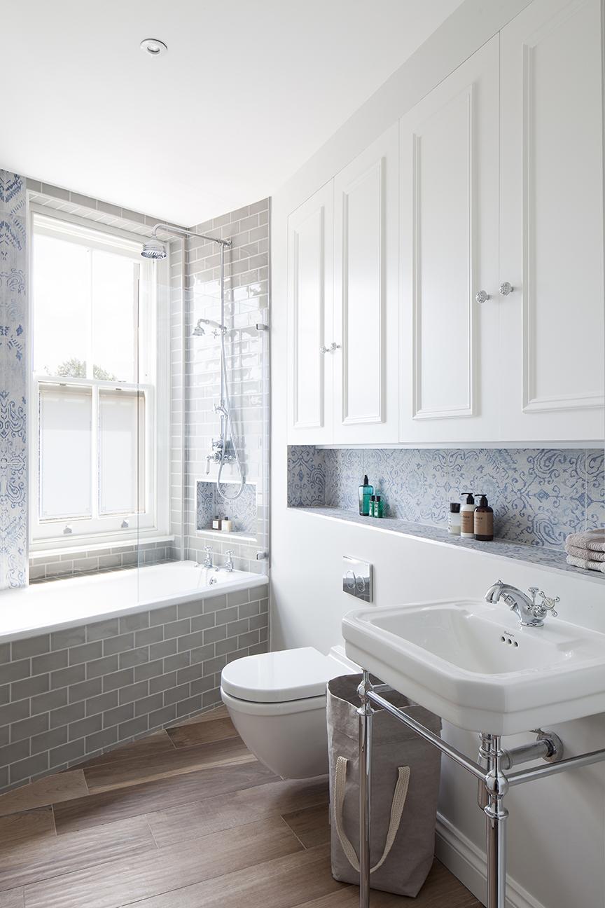 Wooden effect Bathroom tiles | Norse White Design Blog