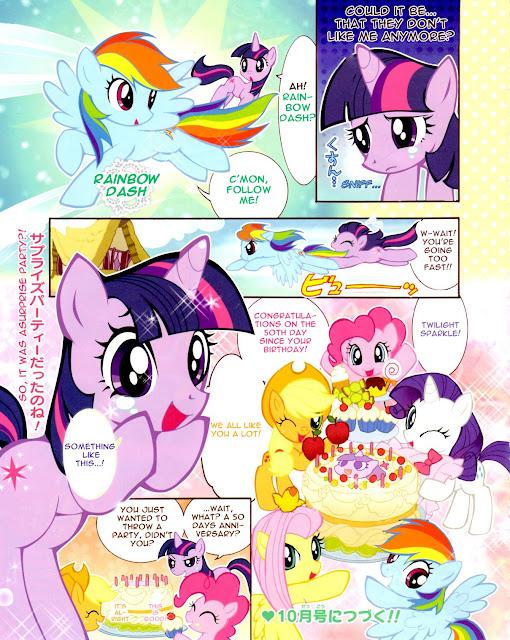 Manga de MLP: FiM [Oficial] 398503__safe_twilight%25252Bsparkle_rainbow%25252Bdash_pinkie%25252Bpie_fluttershy_rarity_applejack_comic_mane%25252Bsix_japanese_translated_artist-colon-akira%25252Bhimekawa