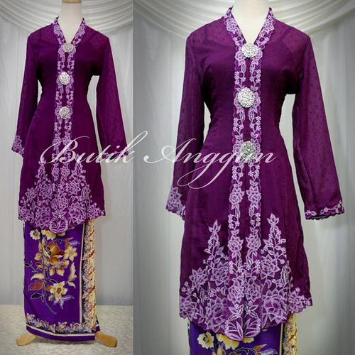 kebaya modern muslim 2011 terbaru desain baju pakaian kebaya muslim