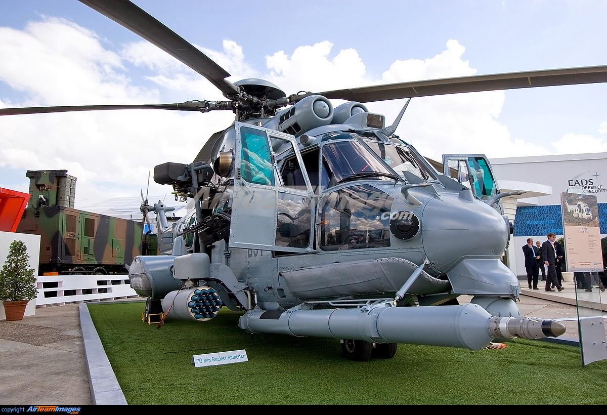 TNI AU Tambah Satu Squadron helikopter canggih EC-725 Cougar