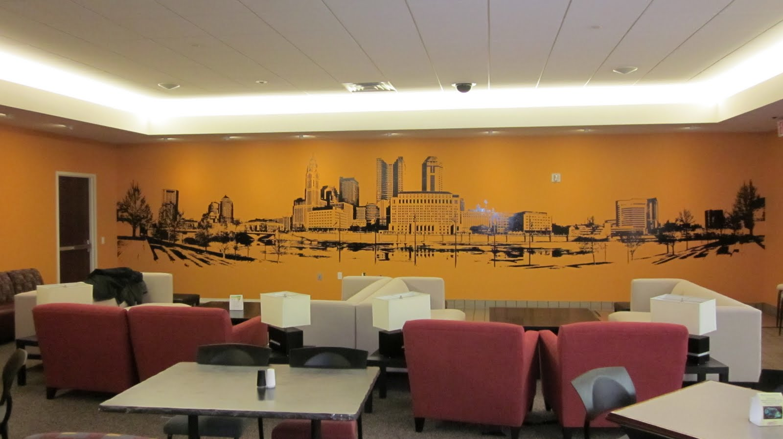 Wall murals and graphics buckeye sign blog the blog for Corporate mural