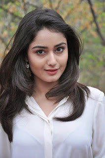 Tridha Choudhary in Spicy White Shirt and Denim Pants at Success Meet of Surya Vs Surya Movie