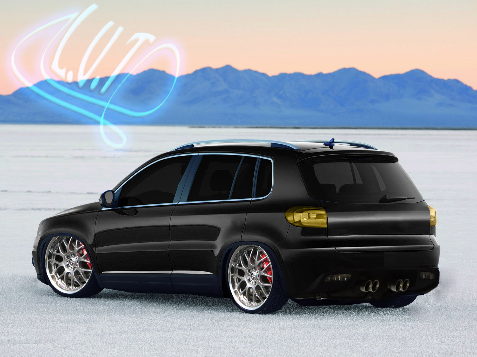 Tuning Volkswagens Tiguan By J Design Virtual Vegas