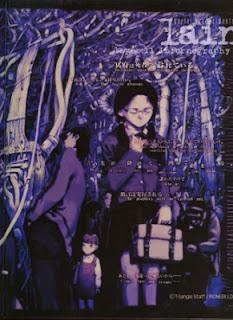 Imagem promocional de Serial Experiments Lain