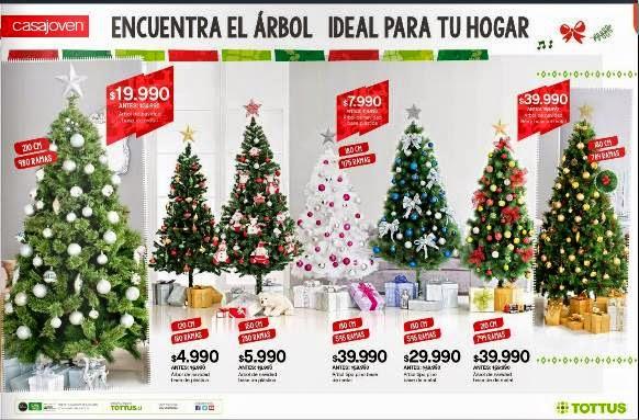 Ofertas de adornos de navidad 2014 tottus de chile - Arboles de navidad precios ...