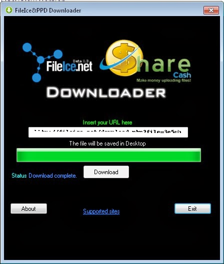 Sharecash file downloader v10