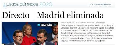 No habrá Madrid 2020