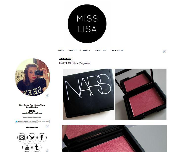 MISS LISA   UK Beauty Blog: April 2012