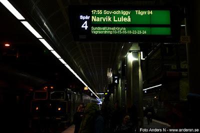 nattåg norrland narvik kiruna luleå