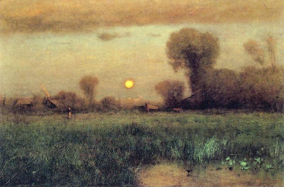 George Inness, cuadro al oleo