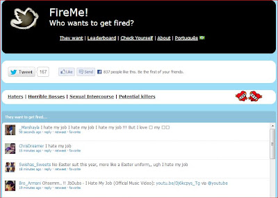 FireMe! is watching boss haters on Twitter | Tool-terrific by Cendrine Marrouat
