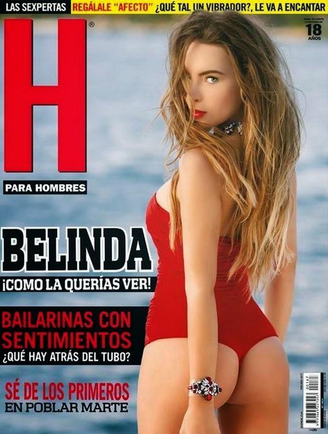 Belinda con poca ropa