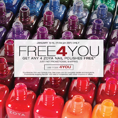 Free4You Promotion from Zoya