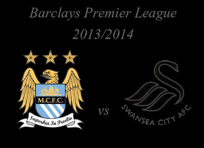 Manchester City vs Swansea City Barlays Premier League 2013