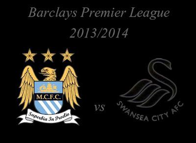 Manchester City vs Swansea City Barlays Premier League 2013