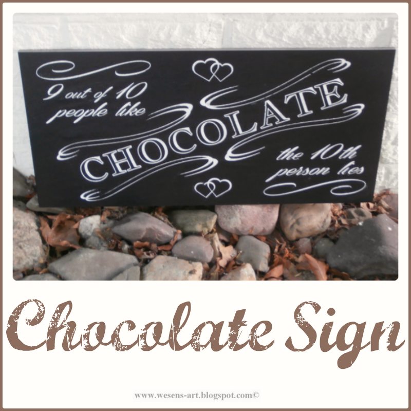 ChocolateSign     wesens-art.blogspot.com