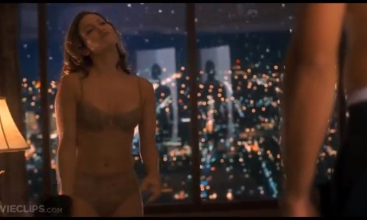 sexiest women in the sexiest movie scenes ever J Lo George Clooney in Out of sight
