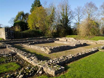 Templo romano (Caerwent) (Gales)