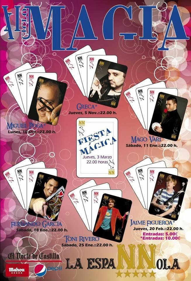 Toni Rivero en el XI Ciclo de Magia La Espannola