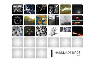 Handmade Birds: Label Sampler