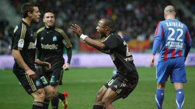 Caen 1 - 2 Marseille (2)
