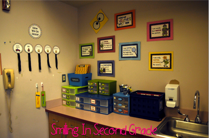 Smiling in Second Grade: Classroom Reveal...Finally