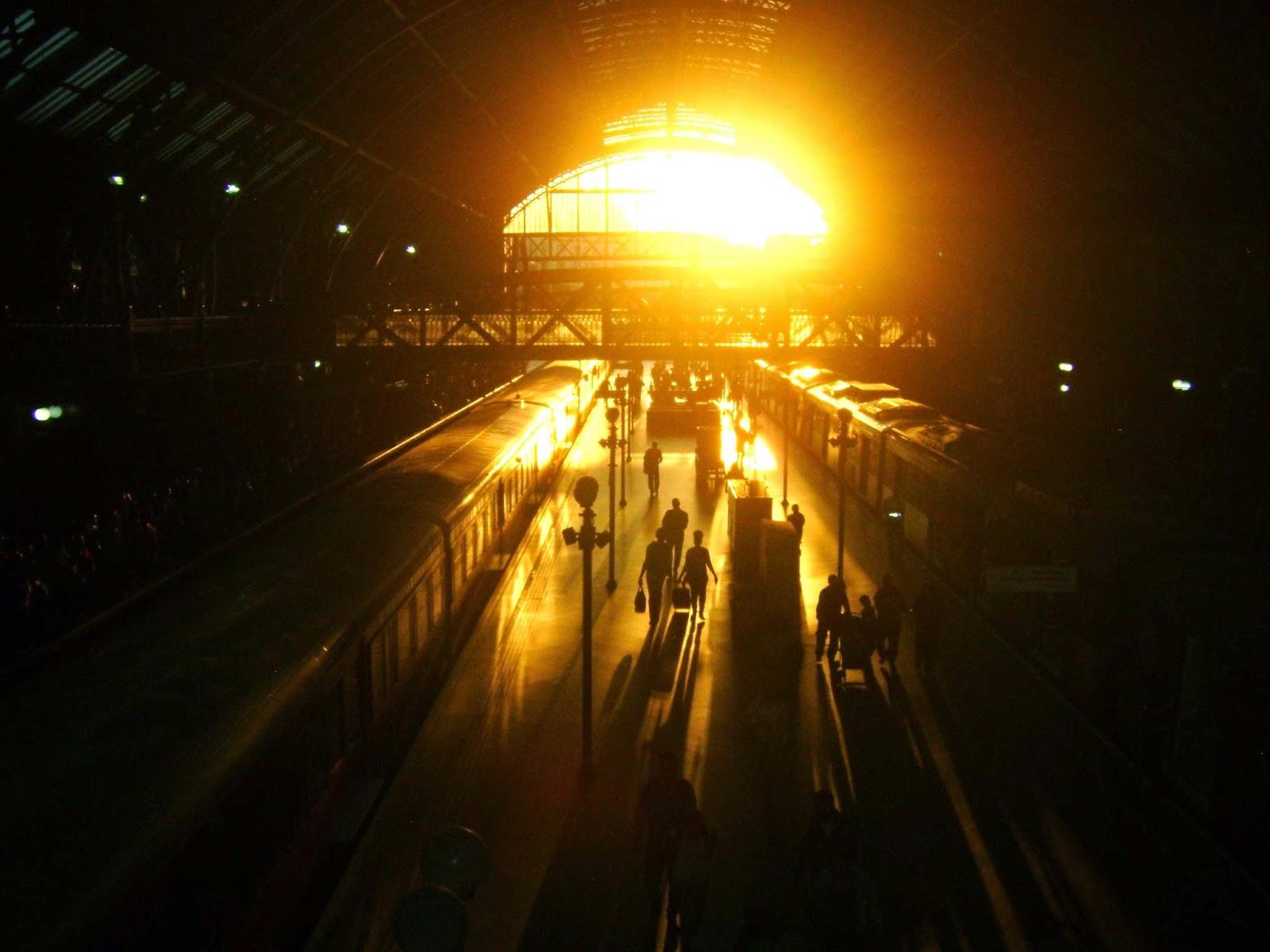Rogério de Moura, estação de metrô, estação de trem, estação da Luz