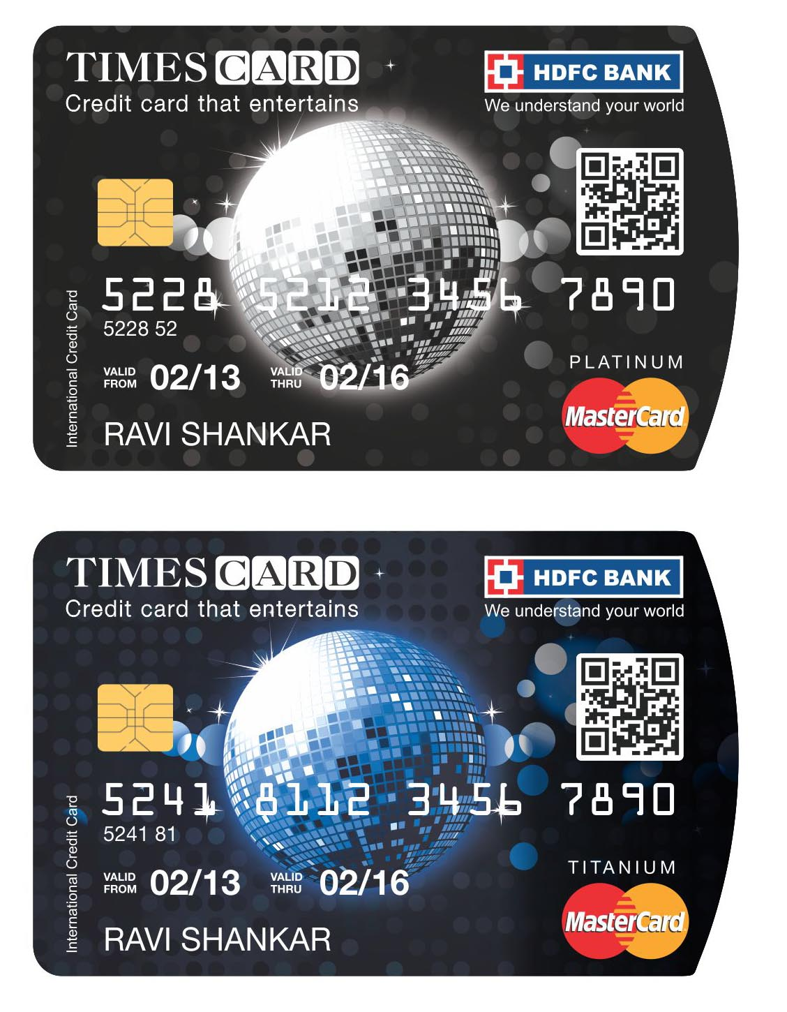 Times card launched in association with hdfc bank mumbai newsbox times card launched in association with hdfc bank reheart Images