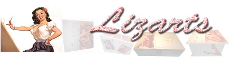 *Caixas decoradas* com pintura  e decoupage da Lizarts
